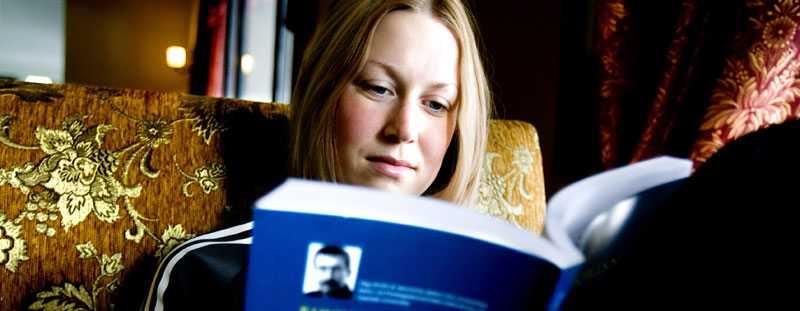 PlUGGIS Helena Jonsson är klar med sina ekonomistudier om två år.