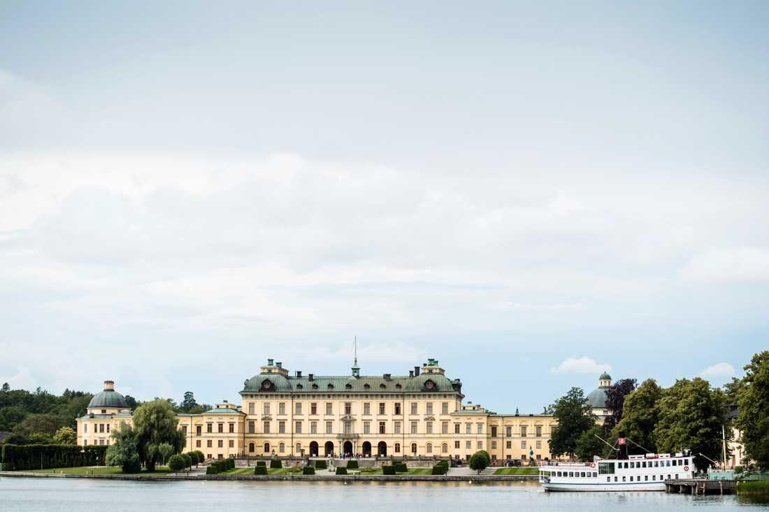 Drottningholms slott på Lovön i Stockholm. Arkivbild.