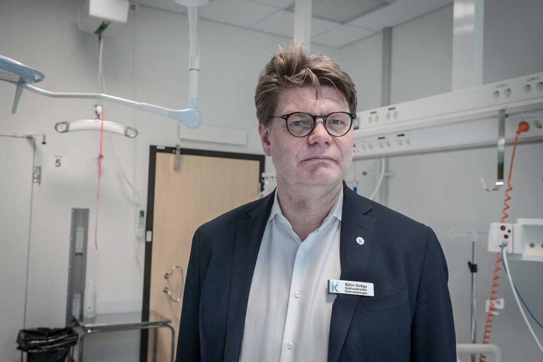 Björn Zoëga, sjukhusdirektör på Karolinska universitetssjukhuset.