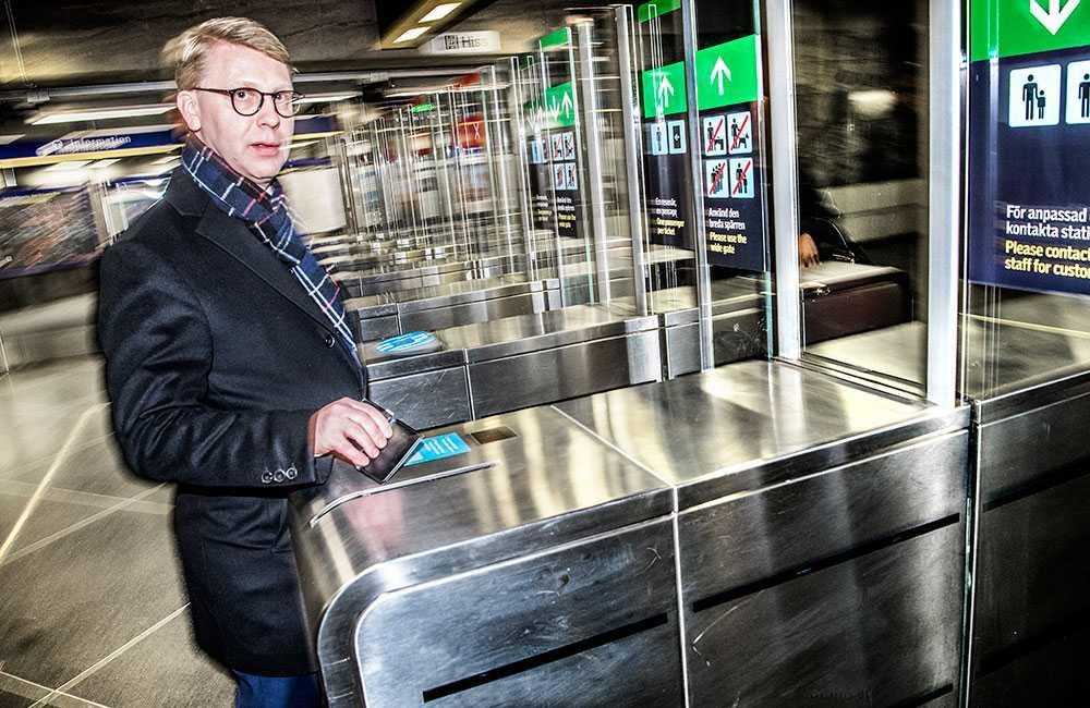 Kristoffer Tamsons, moderat trafiklandstingsråd i Stockholm