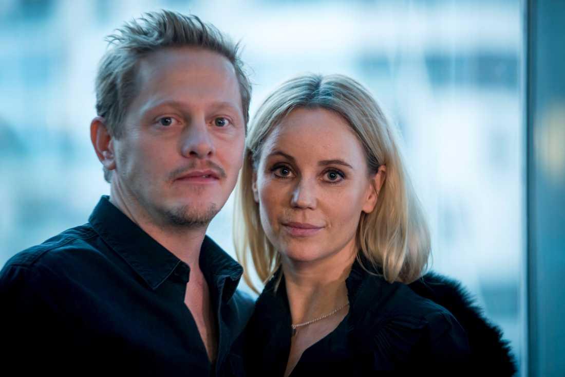 Thure Lindhart och Sofia helin.