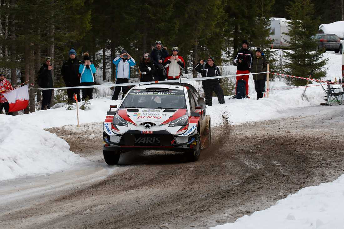 Rejäla avstånd ska gälla för Rally Sweden nästa år. Arkivbild
