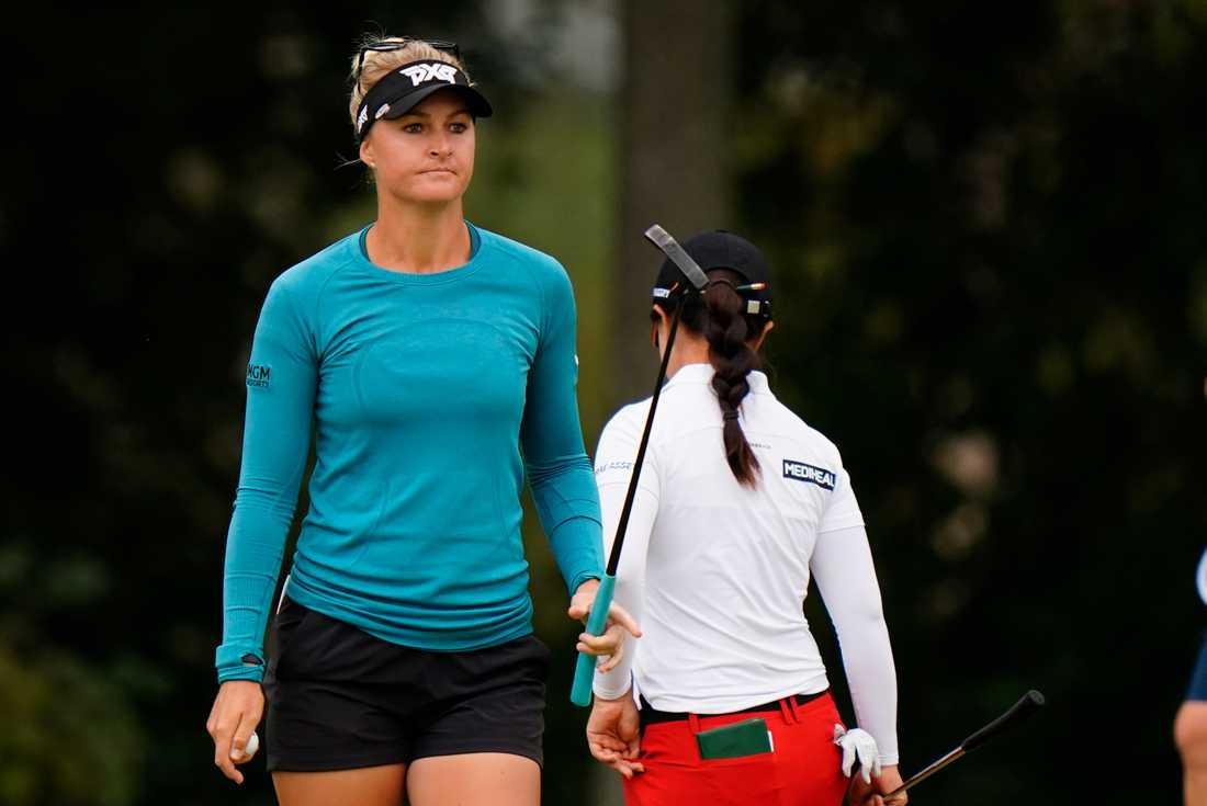 Anna Nordqvist lyckades inte hålla sig kvar i täten i Texas under lördagens tredje runda. Arkivbild.