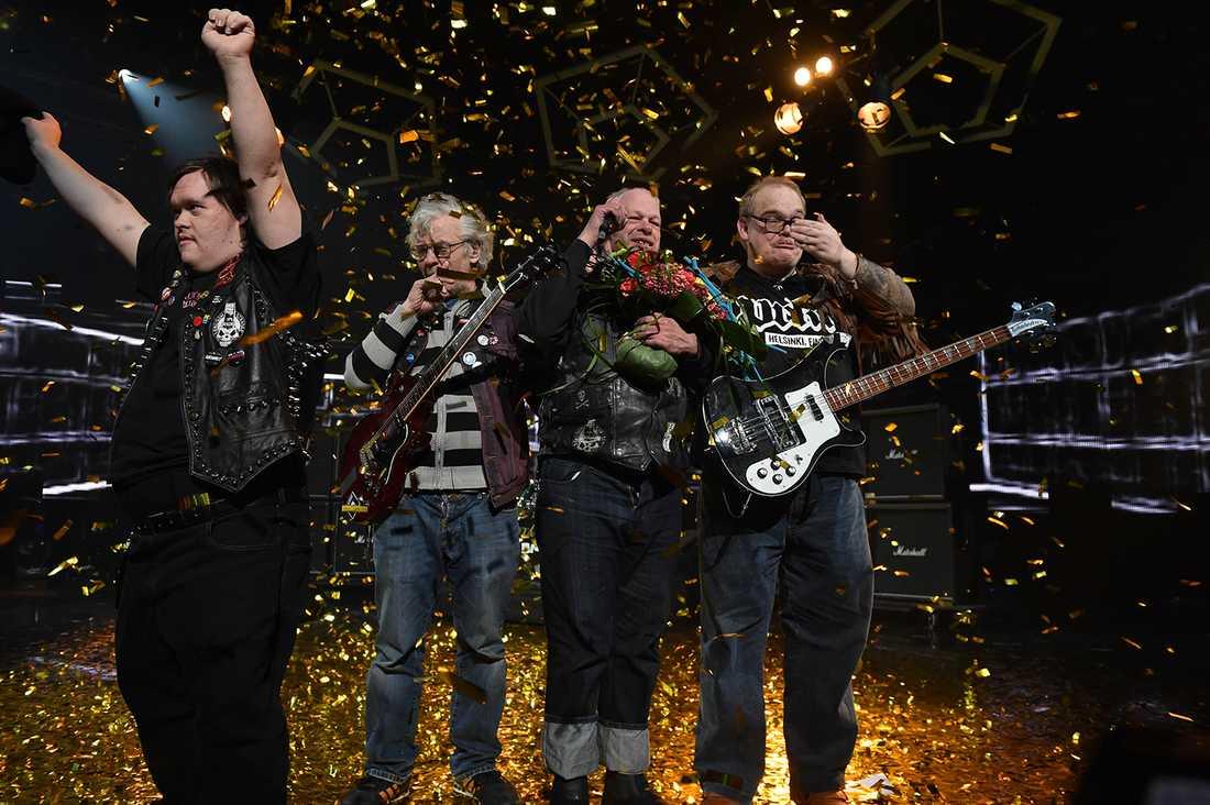Pertti Kurikan Nimipäivät vann finska Melodifestivalen.
