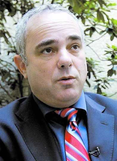 Yuval Steinitz, handelsminister.