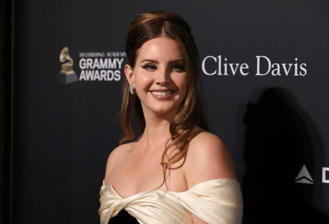 Lana Del Rey på Pre-Grammygalan 2020.