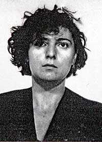 Nadia Desdemona Lioce, 44, greps efter skottdramat tillsammans med en kamrat, som skadats.