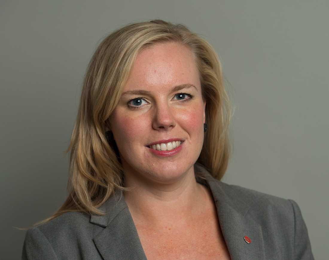 Riksdagsledamoten Linda Snecker (V).
