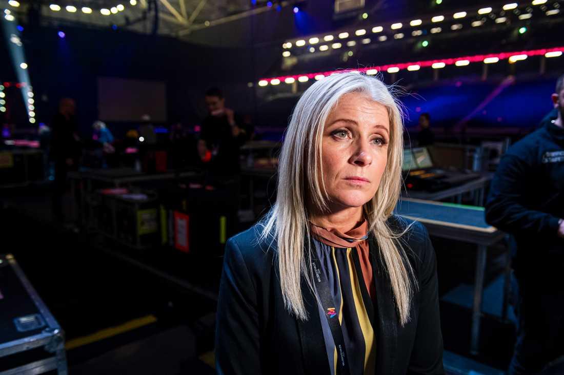 """Melodifestivalens projektledare Anette Helenius: """"Vi behöver informera alla som arbetar med Melodifestivalen om att det är högst olämpligt och omoraliskt att spela på Mello"""""""