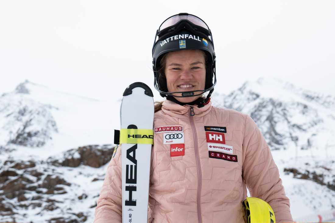 Anna Swenn Larsson.