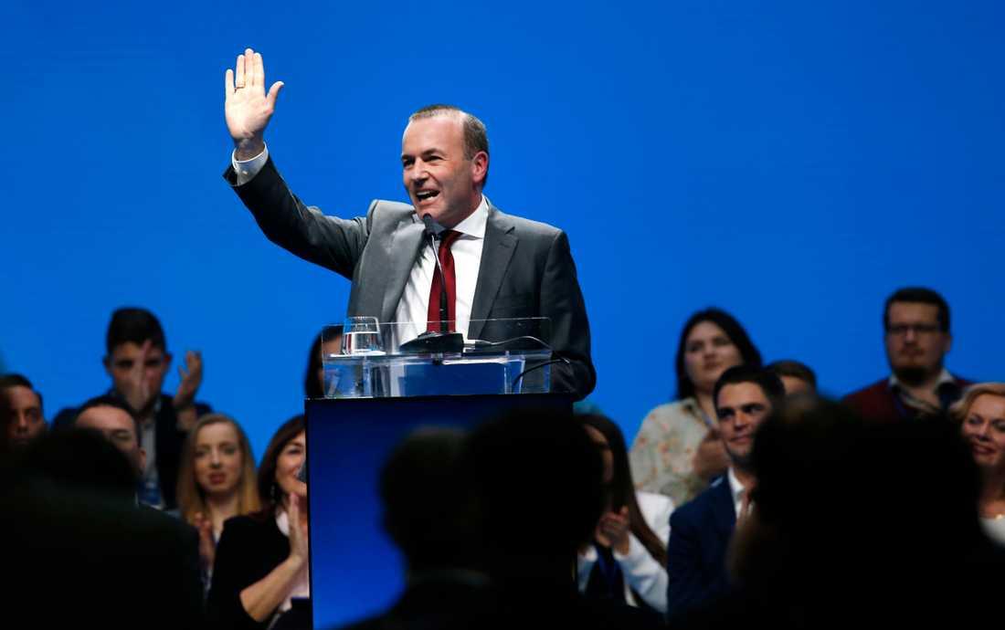 Bayraren Manfred Weber är favorit till posten som ny ordförande i EU-kommissionen. Arkivfoto.