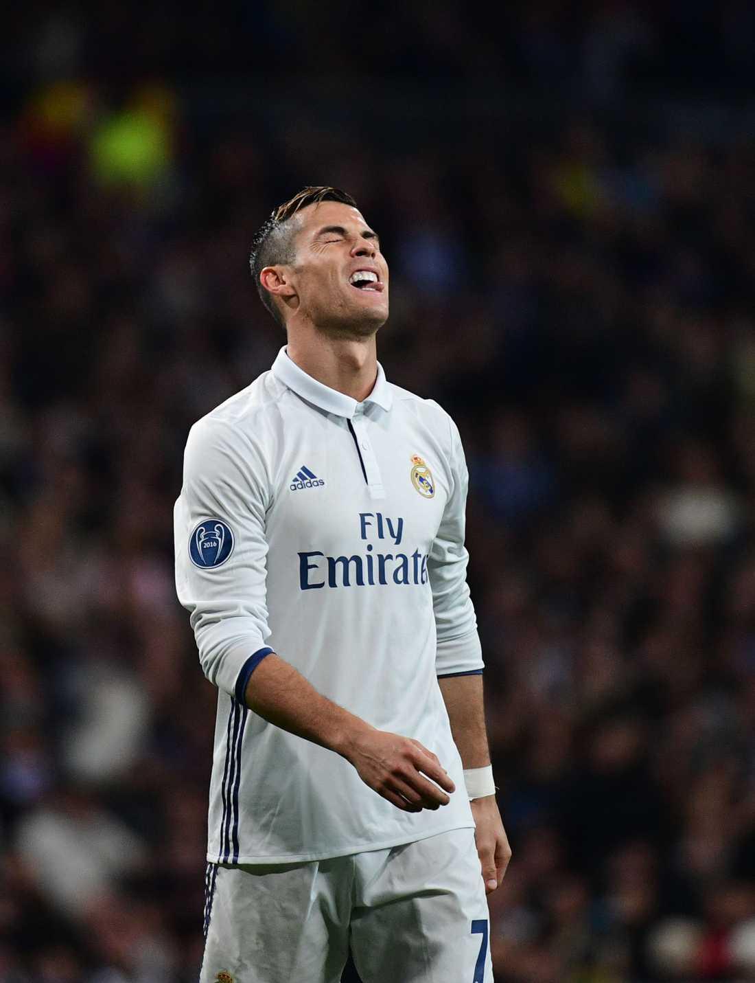 Ronaldo brände flera vassa chanser.