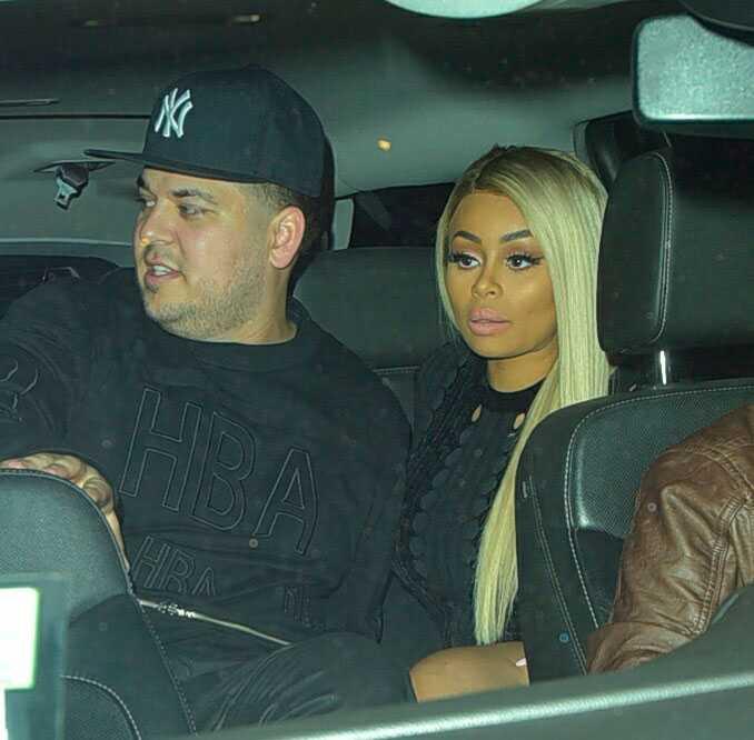 Efter kryptiska bilden firade Kardashian och Blac Chyna på stripklubben Ace of Diamond