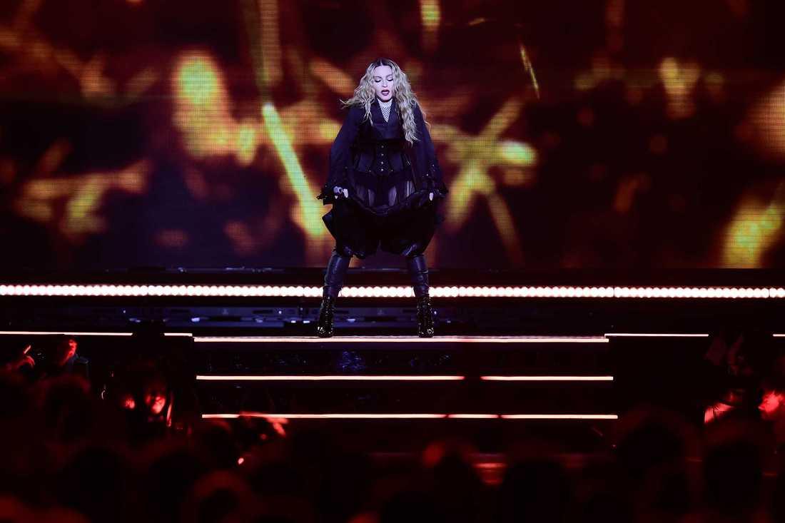 Madonna på Tele2 Arena.