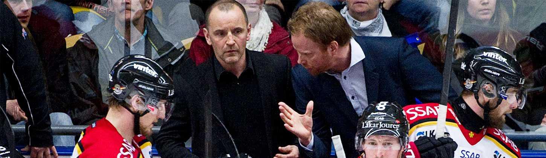 Thomas Berglund och Jonas Rönnqvist lämnar Luleå tillsammans med Roger Åkerström och Daniel Henriksson.