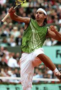 GRUSKUNGEN Rafael Nadal – vinnaren av Franska Öppna.