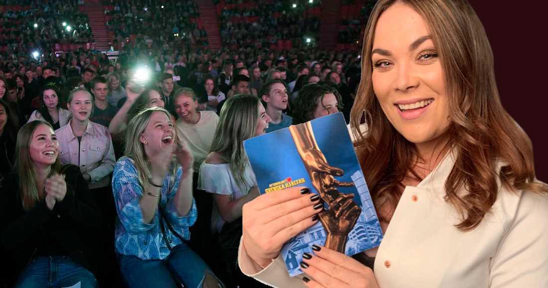 Frida Söderlund kommer att programleda Svenska hjältars skolturné 2019