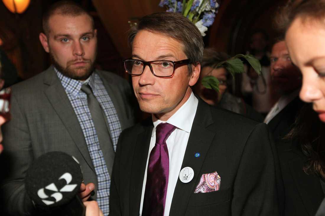 Göran Hägglund, (kd) Socialminister.