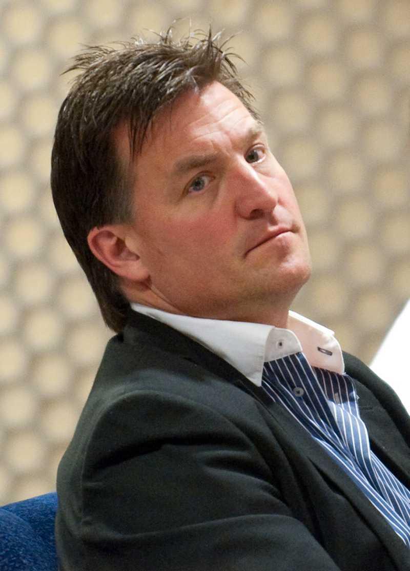 Stefan Bengtzén, sportchef i Karlskrona.
