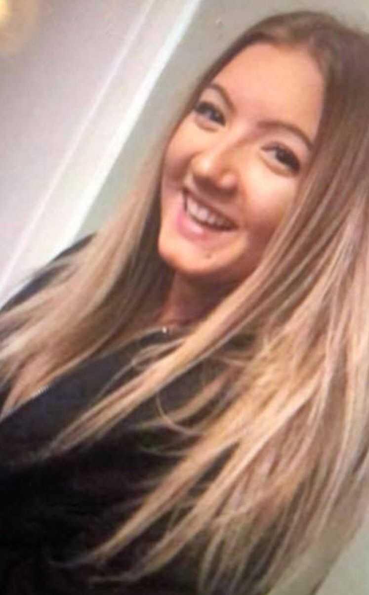 Wilma, 17, försvann 14 november.