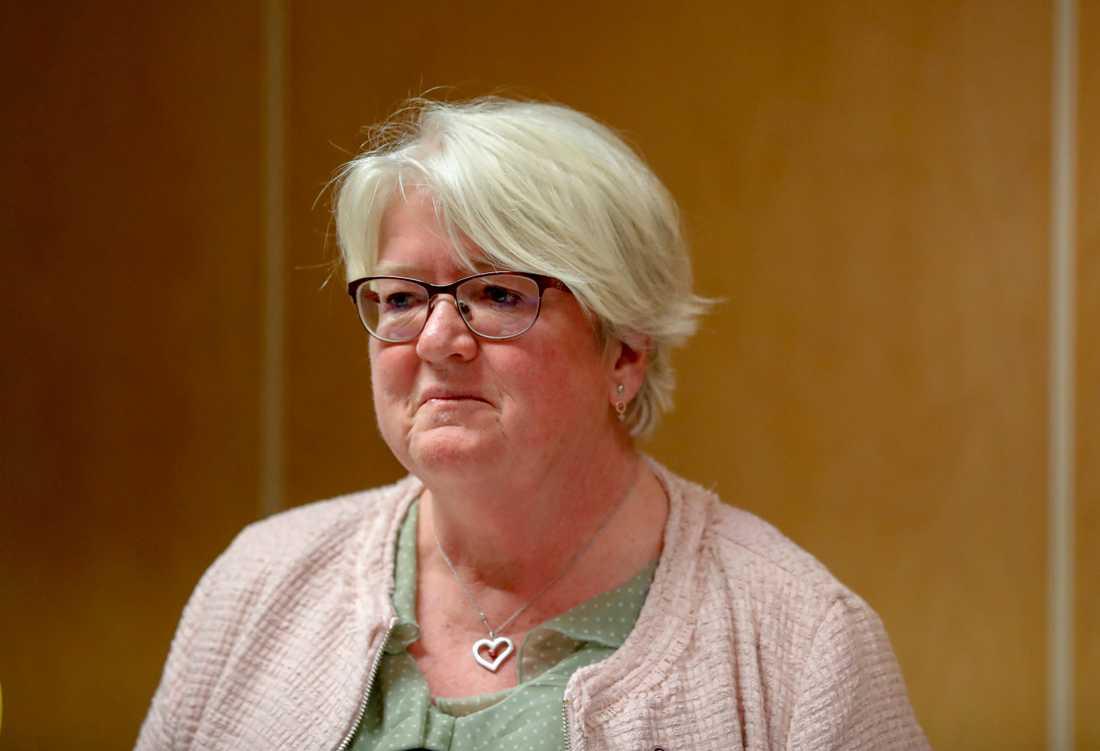 """""""Kritiken från oss kommer att vara stenhård även fortsättningsvis"""", säger Carina Ohlsson (S)."""