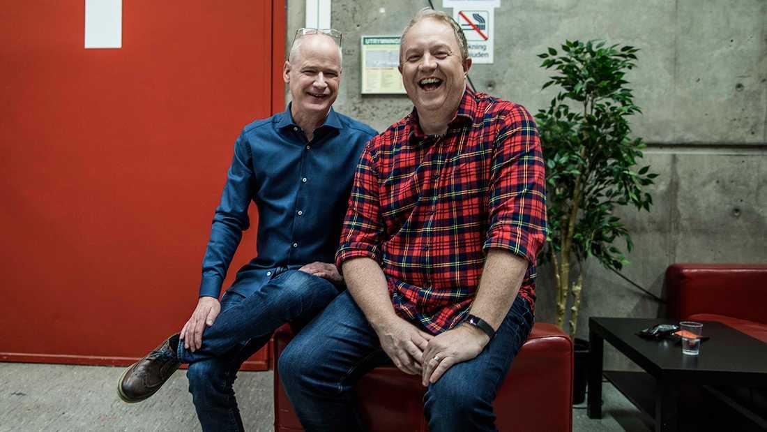 Robert Gustafsson och Anders Jansson.