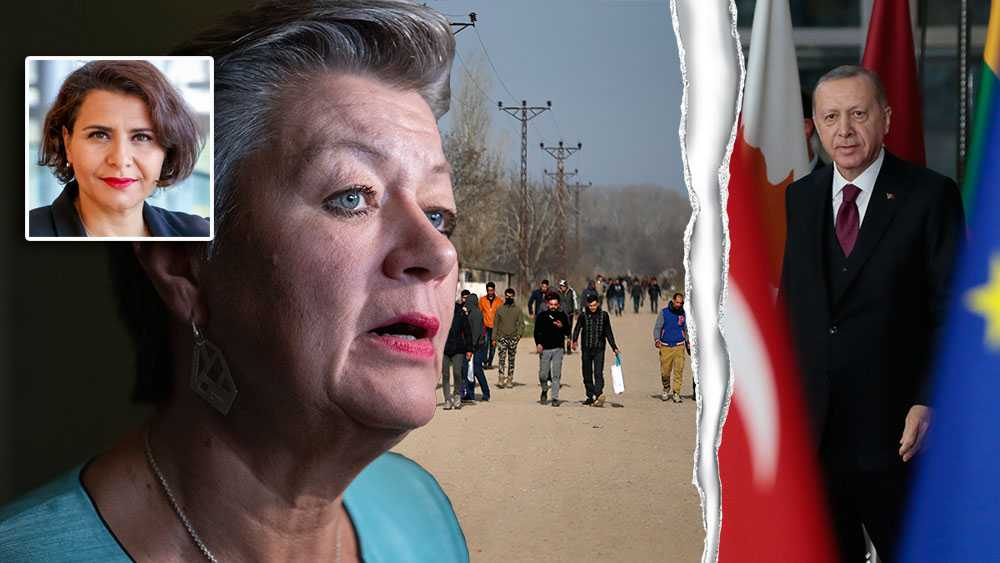 EU:s migrationskommissionär, Ylva Johansson, måste snabbt få på plats den långsiktiga migrationspakt som hon länge har utlovat – där medlemsstaterna måste ta sitt ansvar och fördelning av asylsökanden sker solidariskt, skriver Abir Al-Sahlani (C).