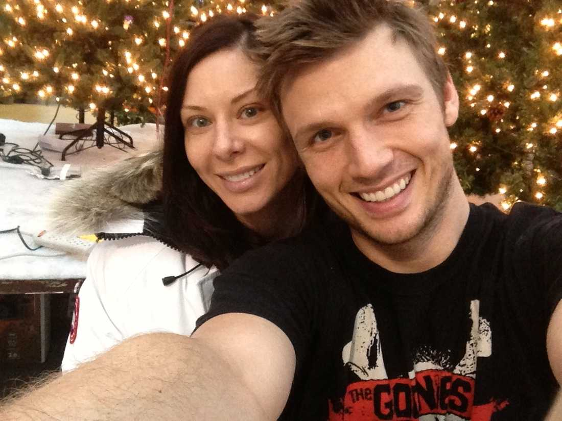 Nick Carter och Lauren Kitt Carter.