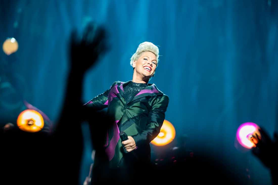 Pink på Tele 2 Arena.