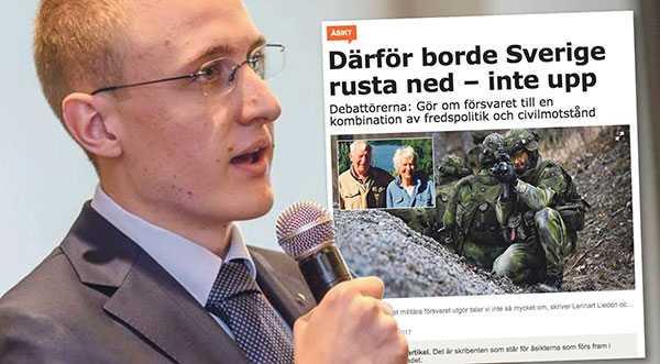 Är vi måna om att värna vår nationella trygghet och stabiliteten i Östersjöområdet är en militär upprustning nödvändig, skriver Zebulon Carlander.