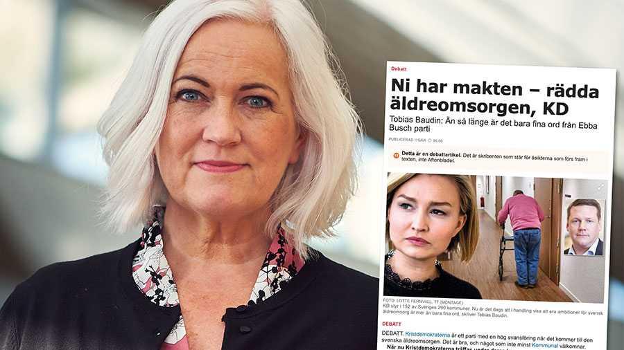 Kommunal skriver att KD måste påbörja arbetet för högre kvalitet i äldreomsorgen. Det arbetet påbörjade vi för länge sedan. Replik från Acko Ankarberg Johansson.
