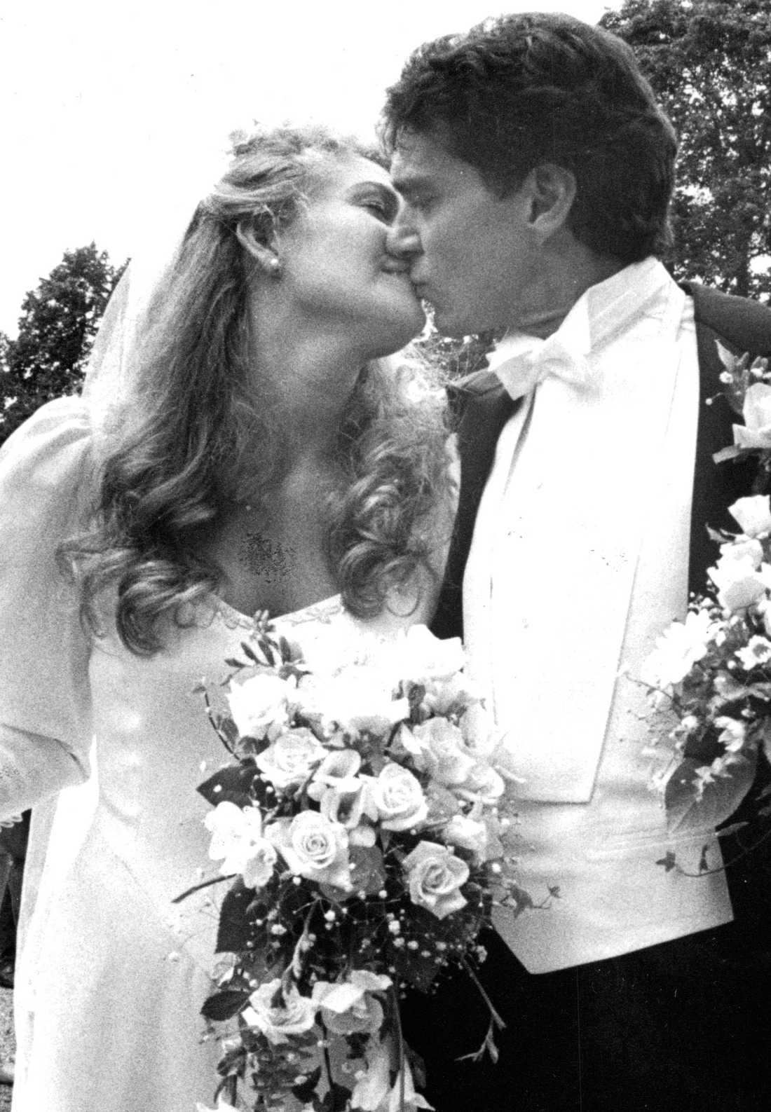 Kjell Bergqvist och Yvonne Ryding var gifta i 13 år.