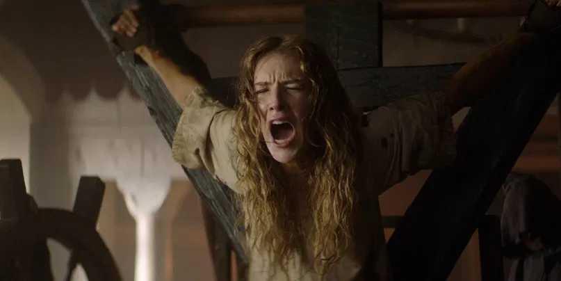 "Charlotte Kirk i ""The reckoning""."