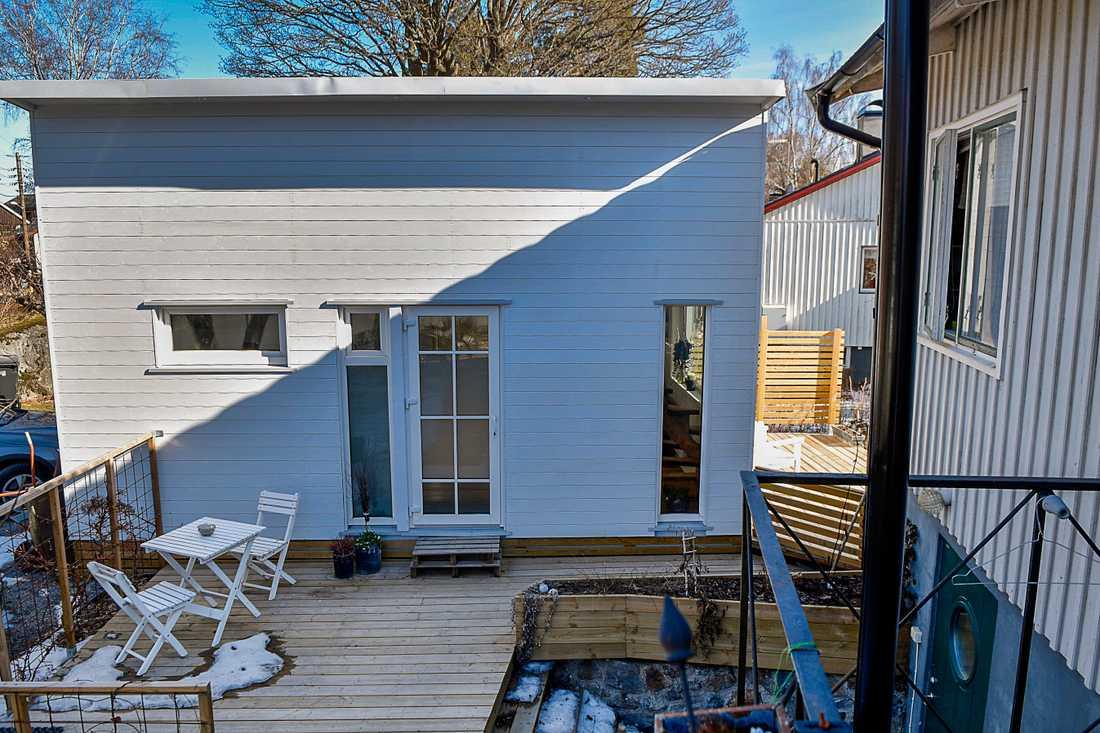 Fem kvadratmeter extra boyta i så kallade attefallshus kommer att göra stor skillnad, säger bostadsminister Per Bolund (MP). Arkivbild