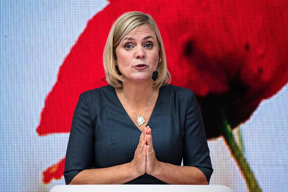 Finansminister Magdalena Andersson (S) saknar helt innehav i aktier och fonder.