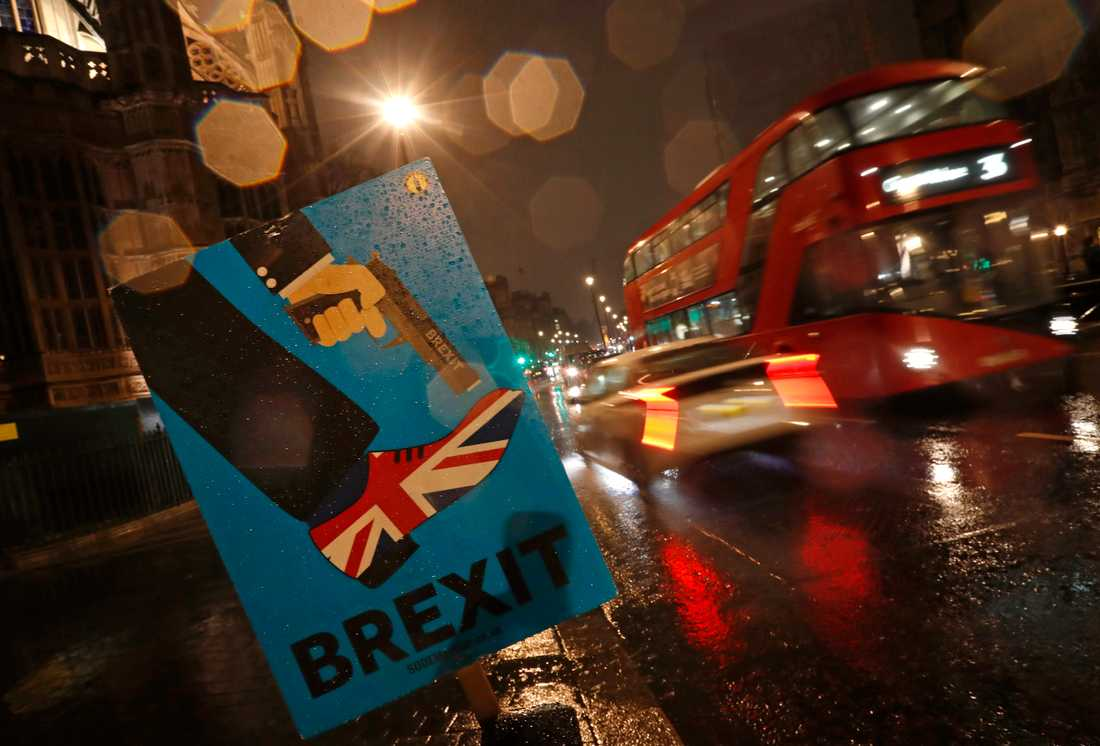 Skjuter sig Storbritannien i foten eller inte i och med EU-utträdet? Frågan fortsätter att dominera brittisk politik. Arkivfoto.
