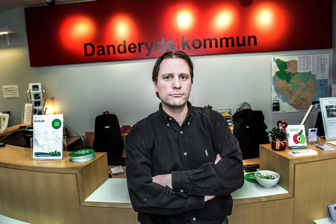 Olle Reichenberg, kommunalråd i Danderyd (M).