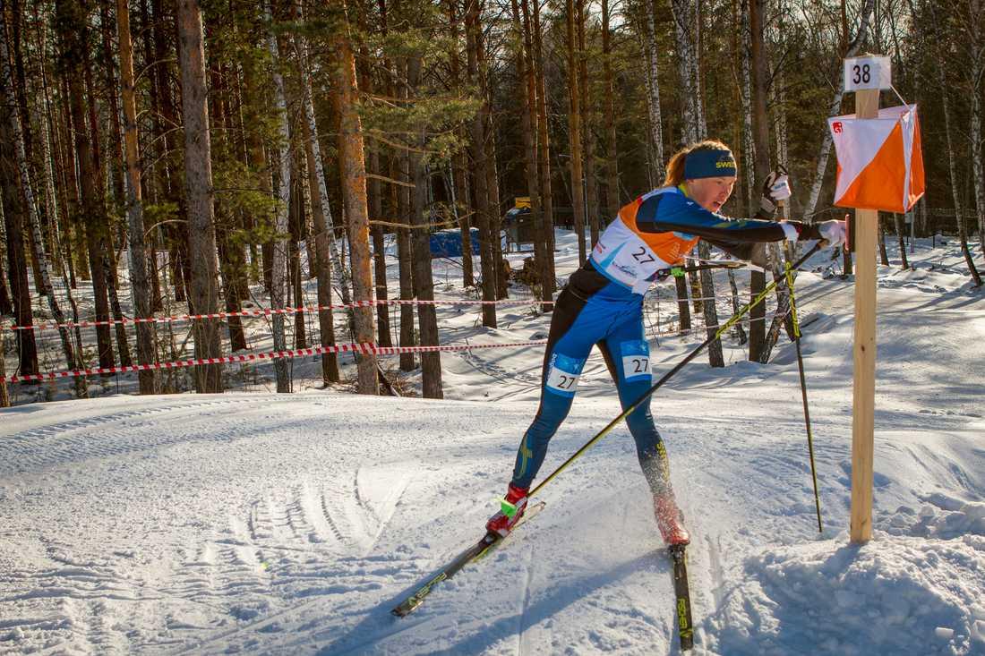 Tove Alexandersson har inlett säsongen med en tredjeplats i världscupen i skidorientering. Arkivbild.