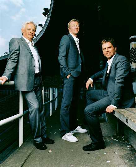 TRION SOM SPRICKER Hans Backe kommer inte att vara med i kvällens sändning av Fotbollsmåndag. Förmodligen spricker TV4:s trio Backe, Magnus Hedman och Ola Wenström i framtiden också om den förstnämnde skriver på för Manchester City.