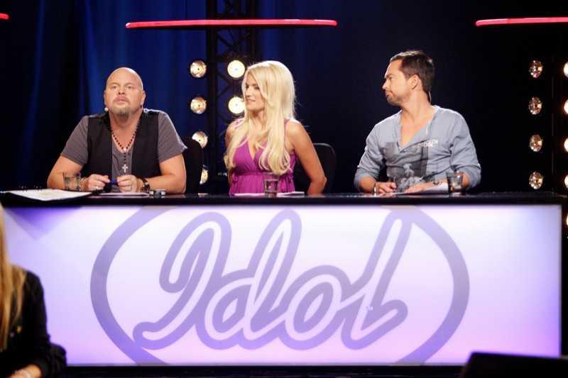 Idoljuryn Anders Bagge, Laila Bagge och Andreas Carlsson