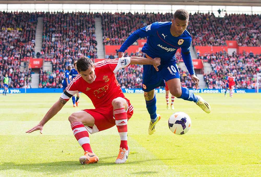Cardiff besegrade – trots allt – Southampton på lördagen med 1–0.