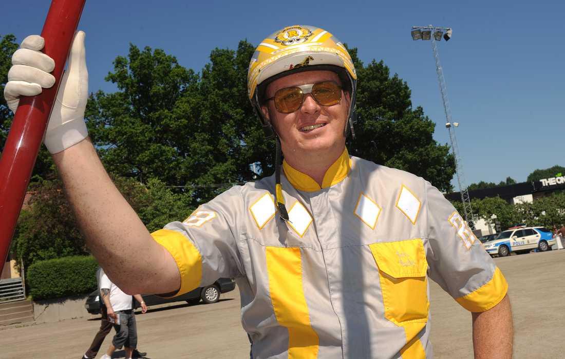 Tränaren Ron Burke var nöjd efter insatsen på Hoosier Park.