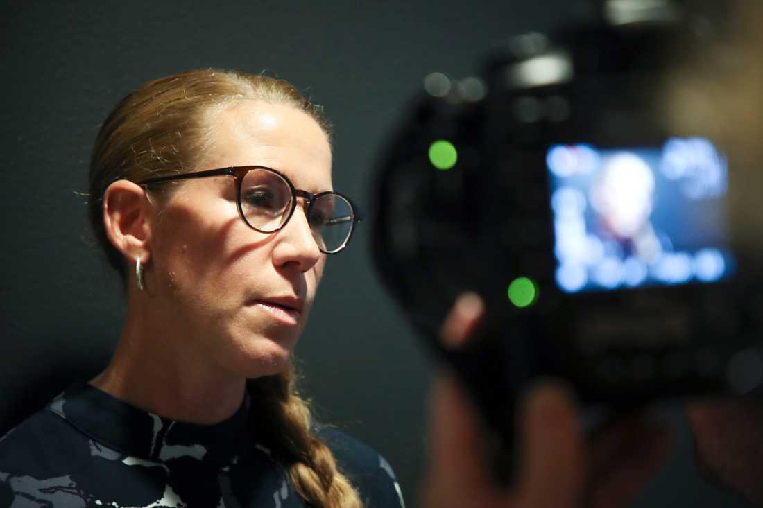 Att andra gärningsmän skulle attackerat mannen ifrågasatte kammaråklagare Linda Schön redan i sin första kommentar till tingsrättsdomen. Arkivbild.