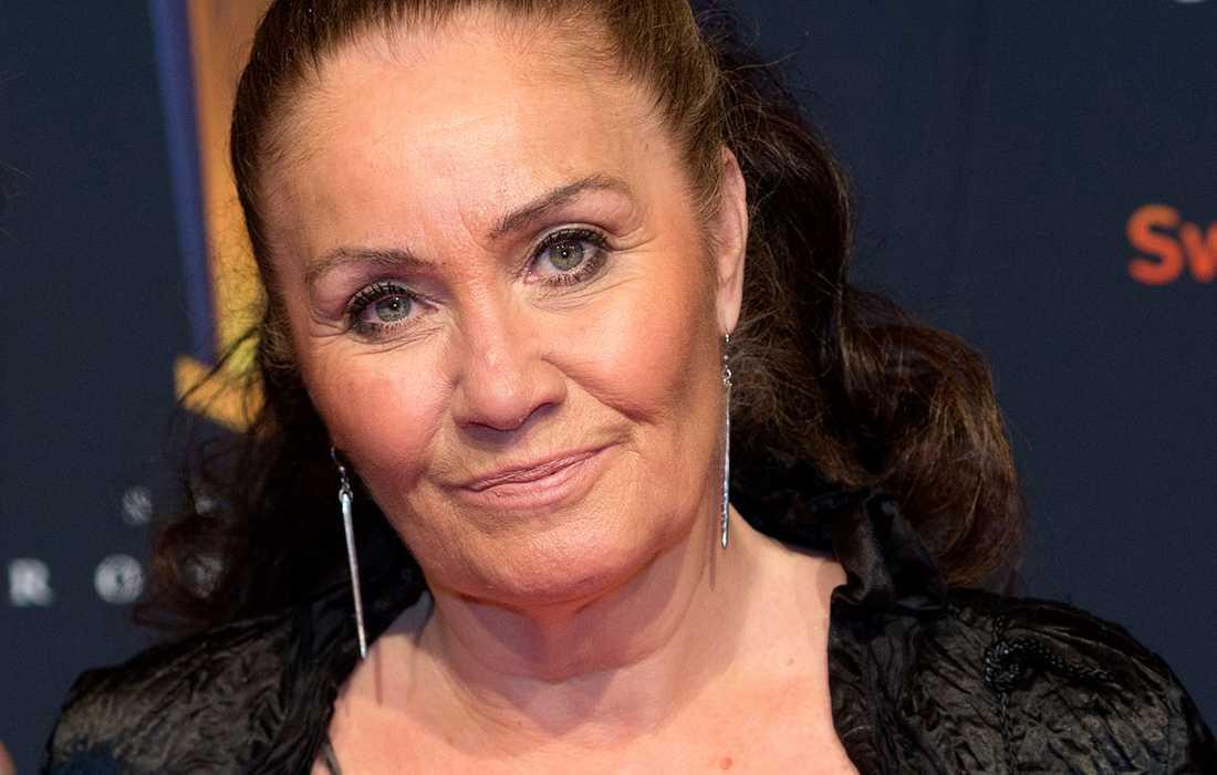 Linda Haglund på Idrottsgalan 2014.
