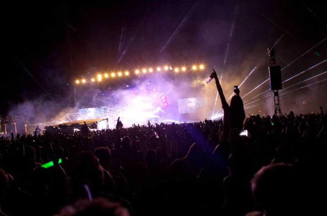 Swedish House Mafia spelade på jättefestivalen Coachella i Kalifornien tidigare i år. oto: