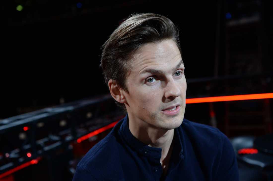 Programledaren David Lindgren.