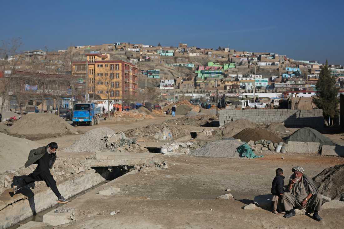 Vardag i Kabul, den 3 december.