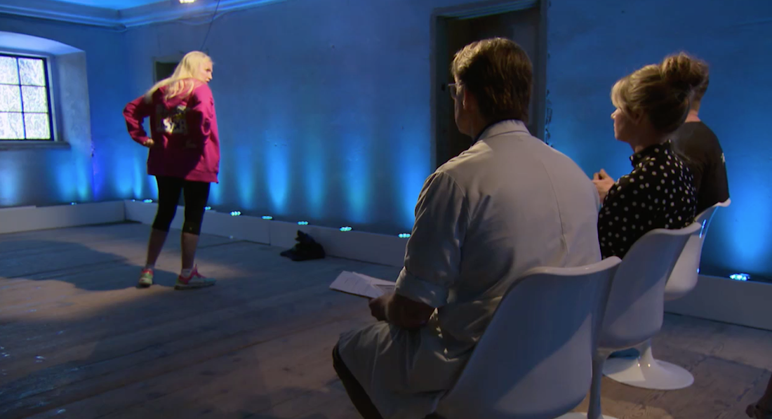 Gunilla Persson i Biggest loser VIP.