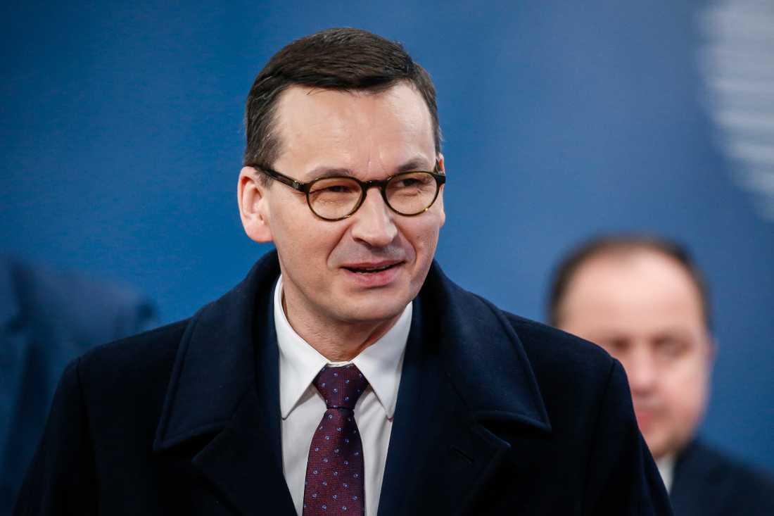Det går inte att både skära i EU-budgeten och göra den modern, varnar Polens premiärminister Mateusz Morawiecki.