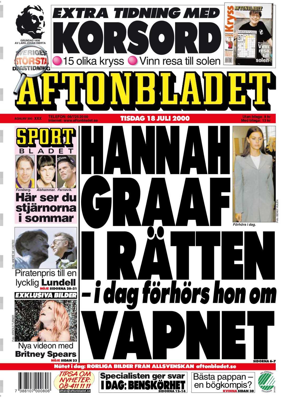 Aftonbladet tisdag 18 juli